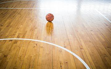 basketball court flooring wooden parquet