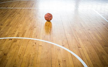 basketball court flooring wooden parquet
